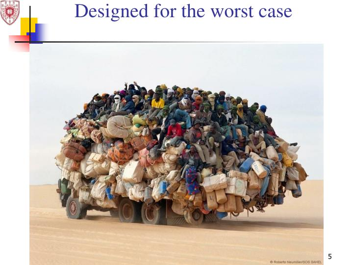 Designed for the worst case