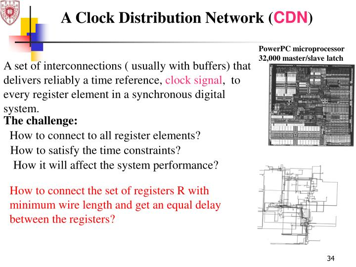 A set of interconnections ( usually with buffers) that delivers reliably a time reference,