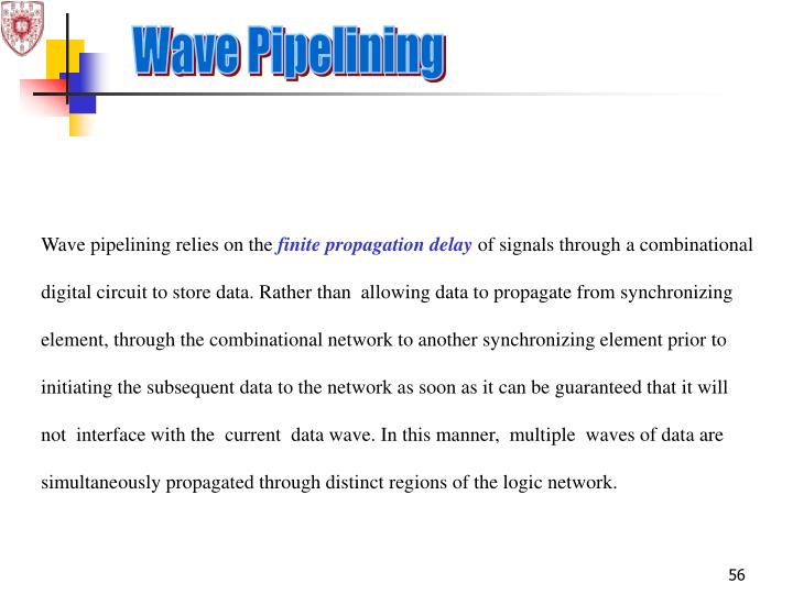Wave Pipelining