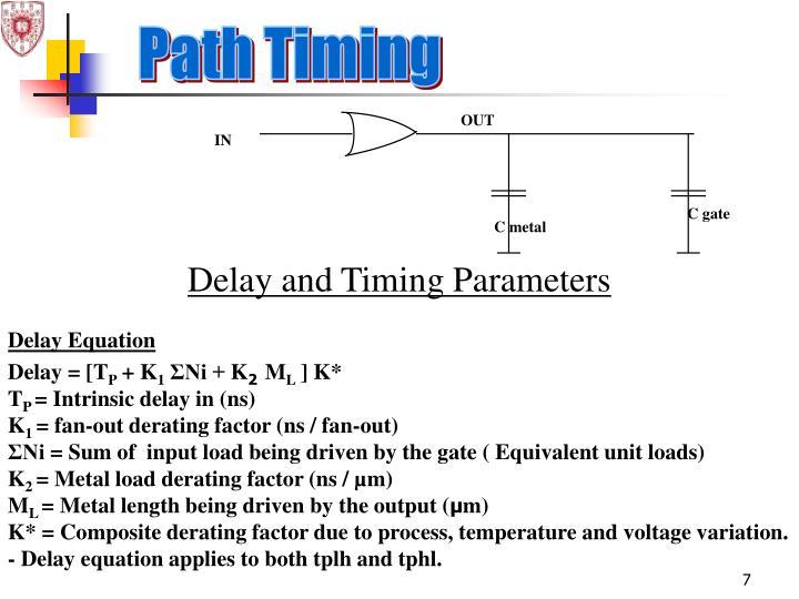 Path Timing
