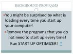 background programs1