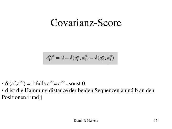 Covarianz-Score