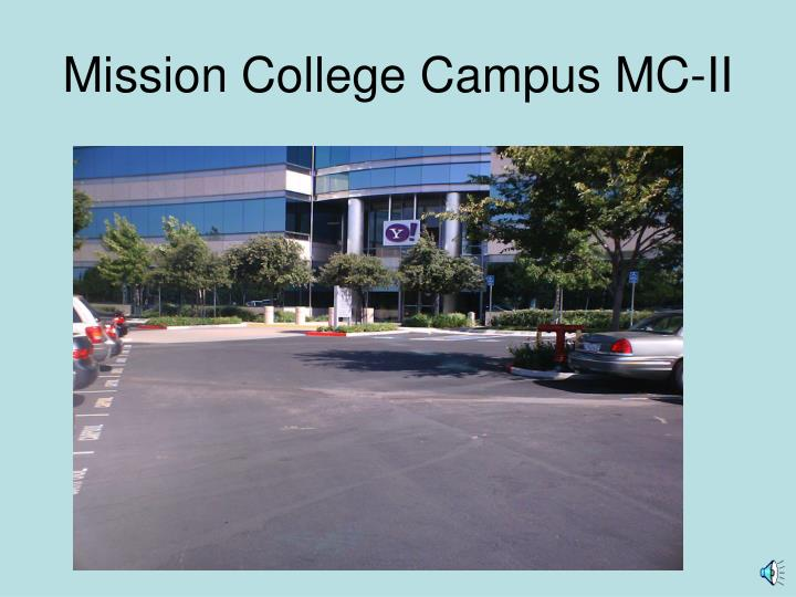 Mission college campus mc ii