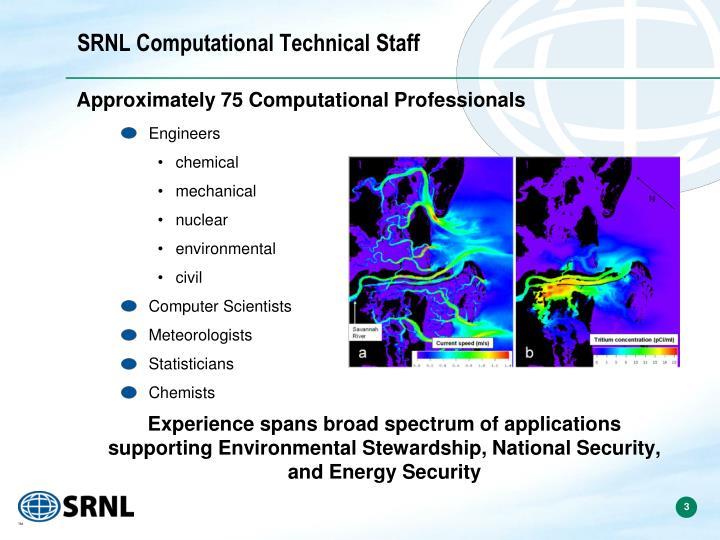 Srnl computational technical staff