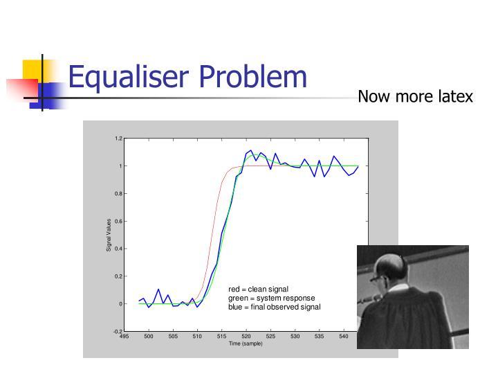 Equaliser Problem