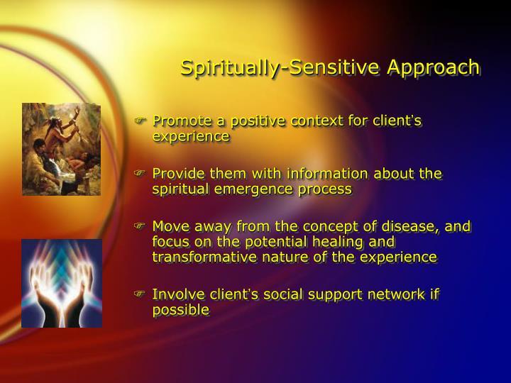 Spiritually-Sensitive Approach