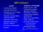wrf software