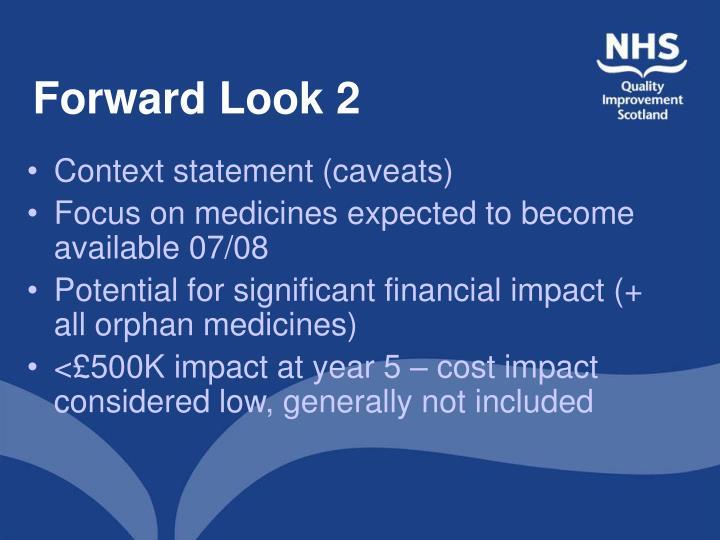 Forward Look 2