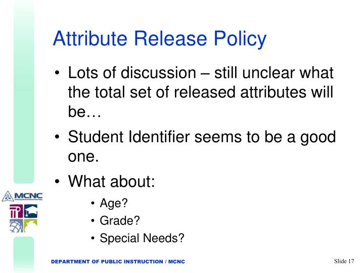 Attribute Release Policy