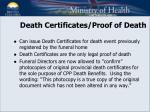 death certificates proof of death1