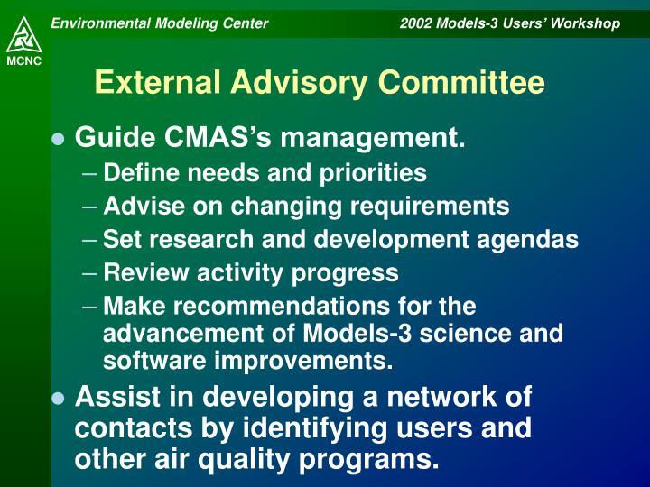 External Advisory Committee