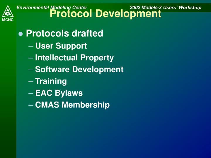 Protocol Development