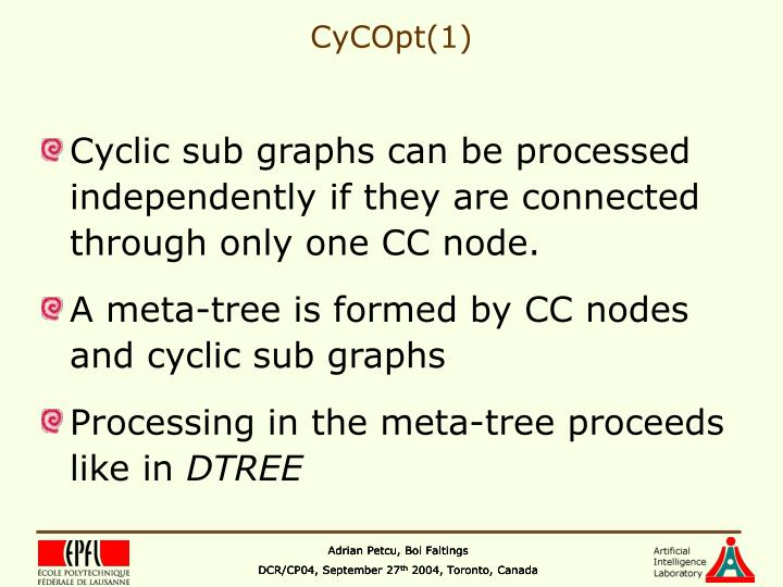 CyCOpt(1)