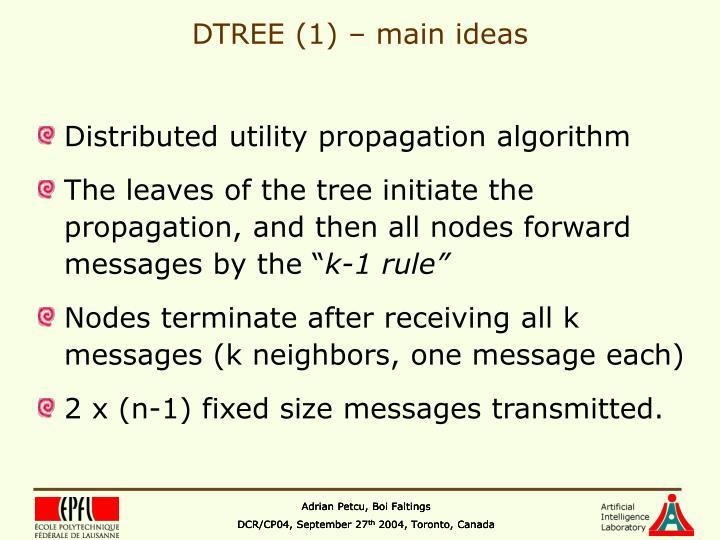 DTREE (1) – main ideas