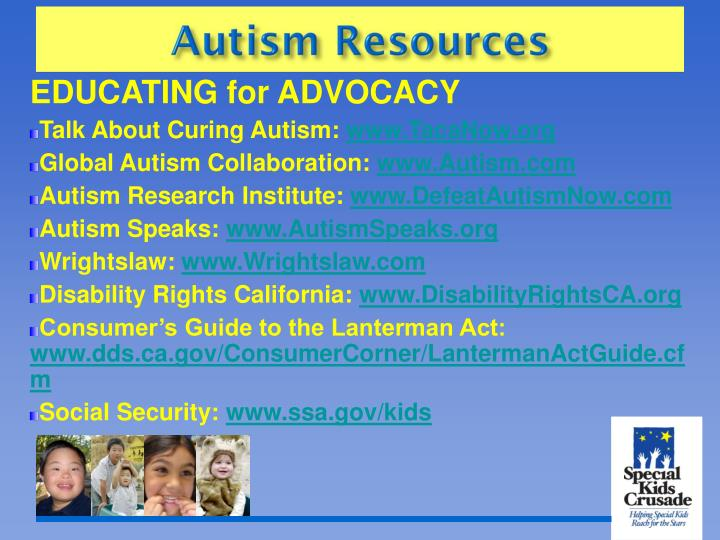 EDUCATING for ADVOCACY