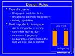 design rules1