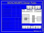 mcnc mumps design rules1