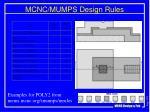 mcnc mumps design rules2