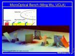 microoptical bench ming wu ucla