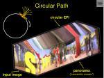 circular path