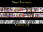 stereo panorama