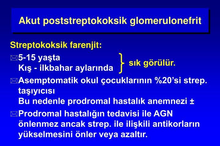 Akut poststreptokoksik glomerulonefrit