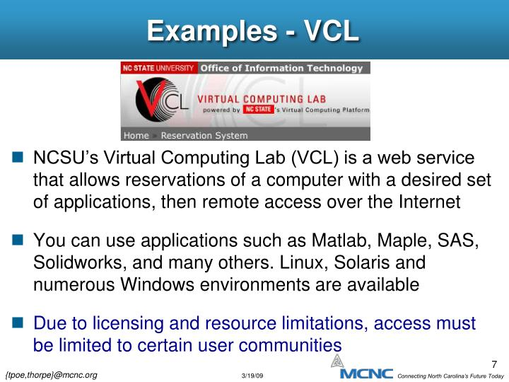 Examples - VCL