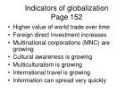 indicators of globalization page 152