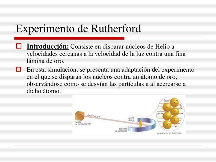 Experimento de Rutherford