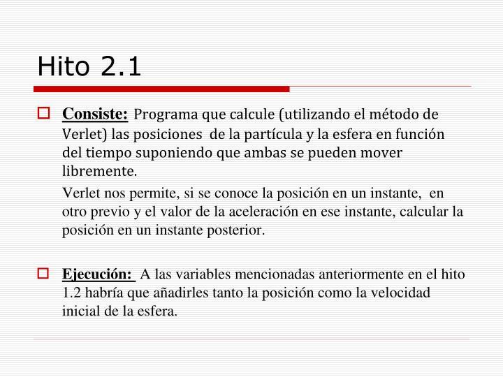 Hito 2.1