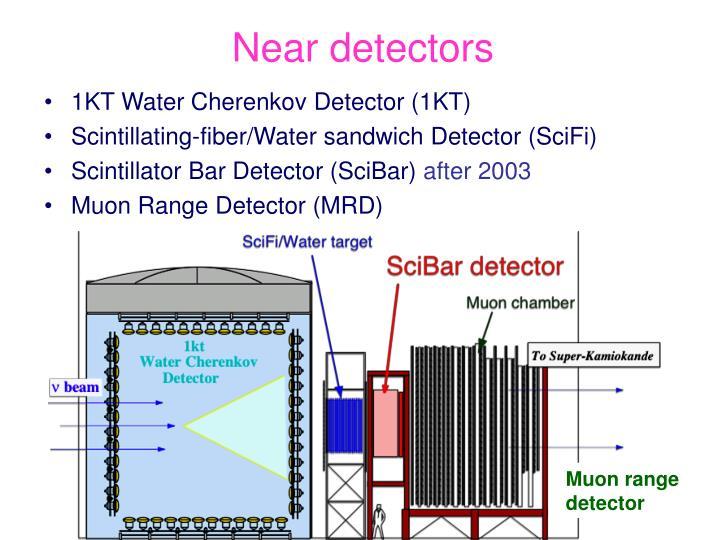 Near detectors