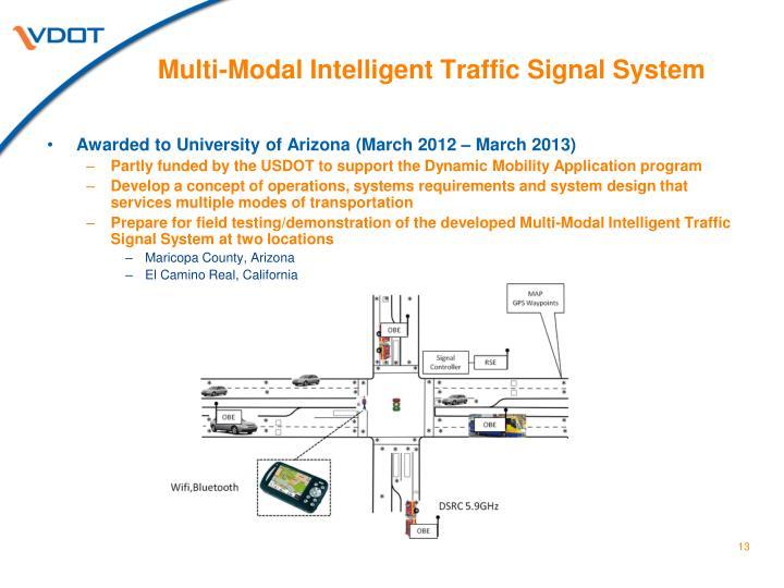 Multi-Modal Intelligent Traffic Signal System