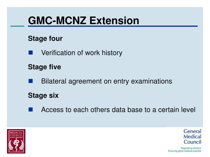 GMC-MCNZ Extension