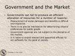 government and the market