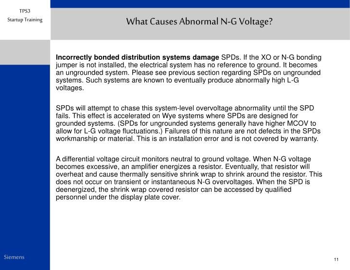 What Causes Abnormal N-G Voltage?