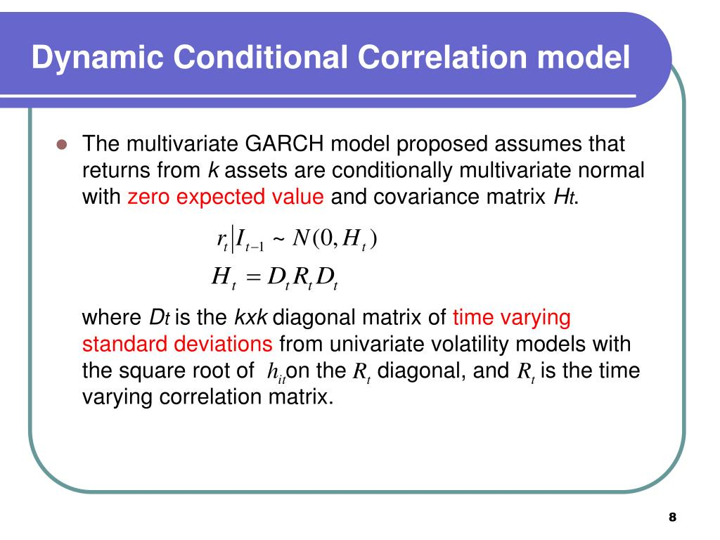 PPT - Forecasting Correlation and Covariance with a Range-Based