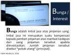 b unga interest