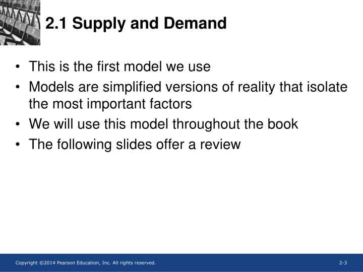 2 1 supply and demand