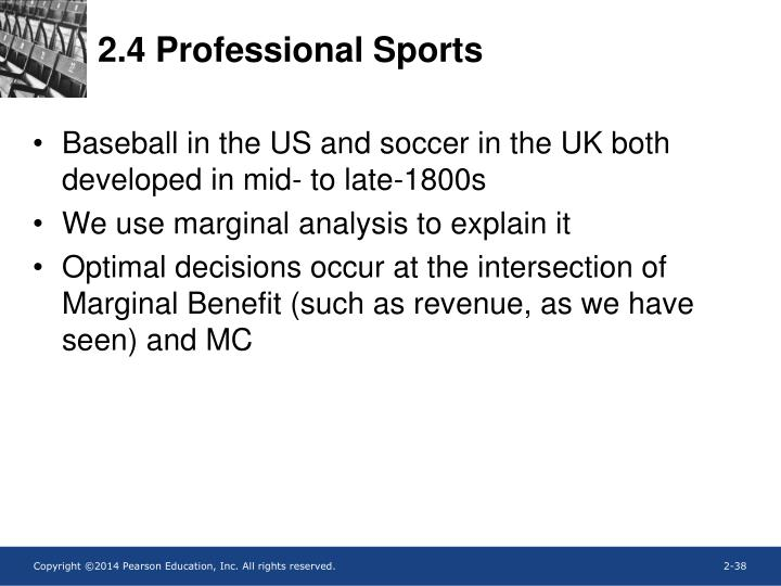 2.4 Professional Sports