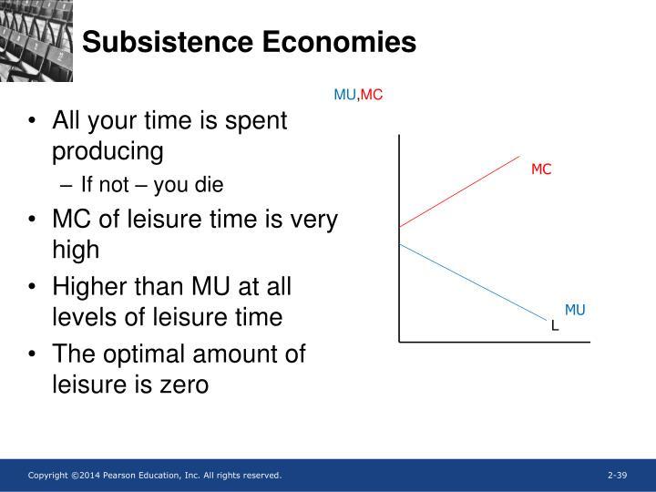 Subsistence Economies