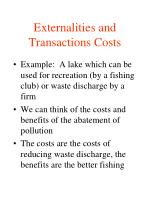 externalities and transactions costs1