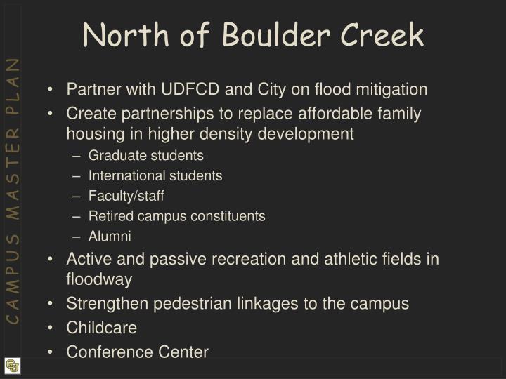 North of Boulder Creek