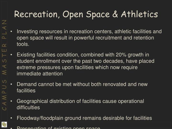 Recreation, Open Space & Athletics