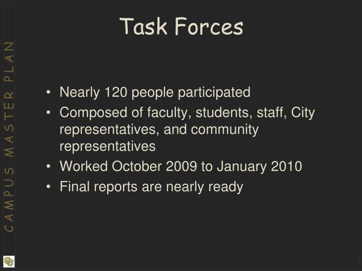 Task Forces