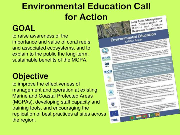 Environmental Education Call for Action