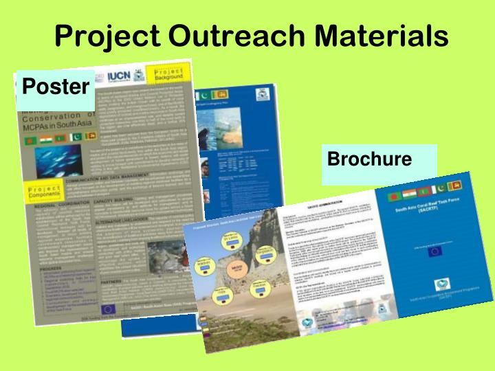 Project Outreach Materials