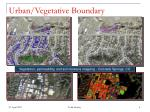 urban vegetative boundary
