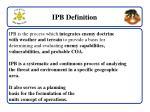 ipb definition