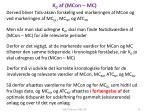 k 0 af mcon mc