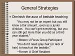 general strategies1